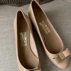 Ferragamo classic ladies shoes